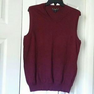 Club Room Mens V Neck Sweater Vest